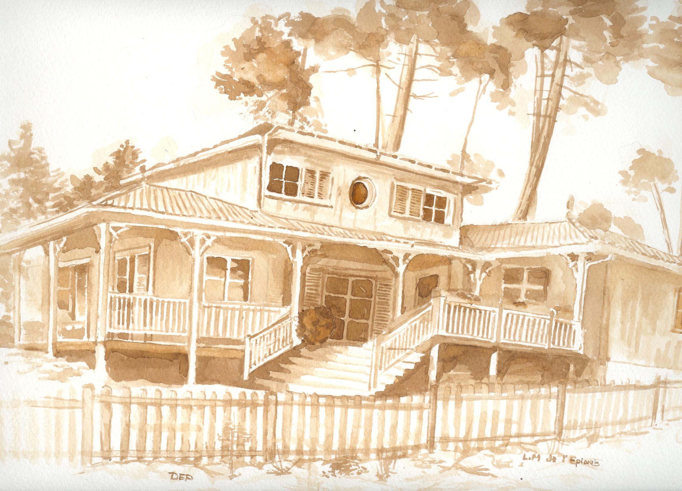 Maison d arcachon dep dessins et caricatures for Annuler offre achat maison
