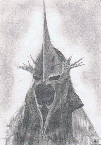 Crayon dep dessins et caricatures - Dessin seigneur des anneaux ...